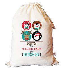 Fill This Bag Santa Sack