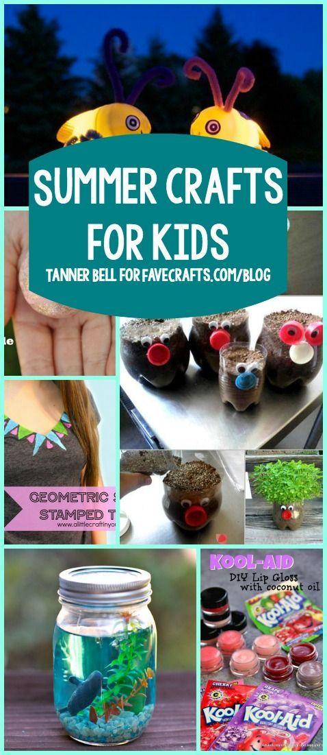 20 Easy Summer Crafts for Kids | FaveCrafts