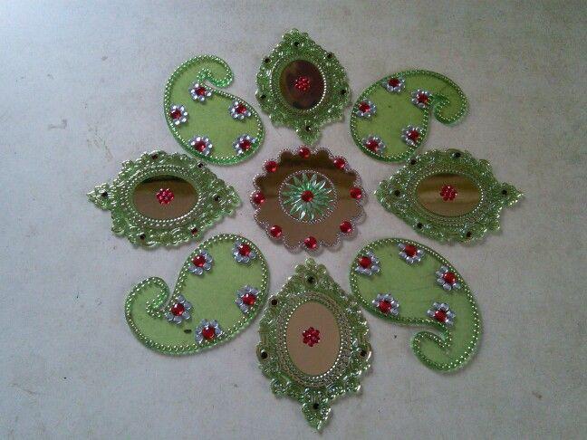 Green Rangoli
