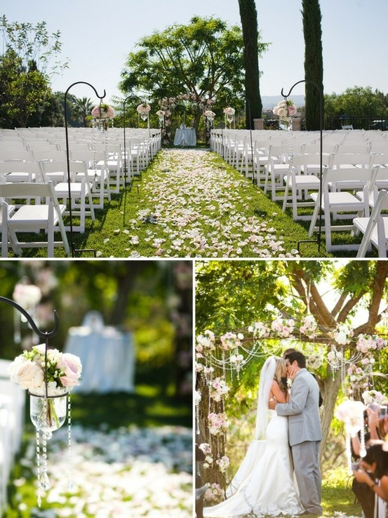 Rustic outdoor wedding ideas pinterest for Pinterest outdoor wedding ideas