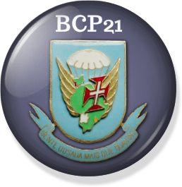 PicBadge BCP21 - Batalhão de Caçadores Pára-quedistas - Angola