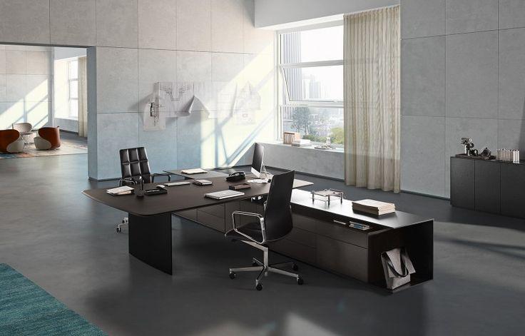 Büro Schreibtisch PRAEFECTUS Preis ▭ Modern Büro Schreibtische Von RECHTECK  | Chefzimmer | Pinterest | Büro Schreibtisch, Moderne Büros Und Rechteck