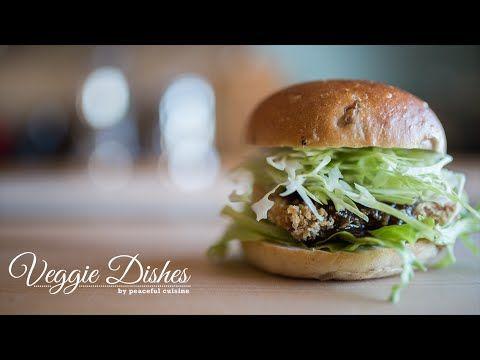 まるでハムカツ!?おからこんにゃくで作るベーグルカツサンドの作り方:How to make Bagel Cutlet Sandwich | Veggie Dishes - YouTube