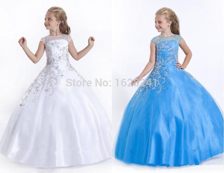 Encontrar Más Vestidos de Damita de Honor Información acerca de cuentas de coral cucharada manga Cap vestidos de niña 2015 piso longitud del vestido de bola suave tul Zip Up Kids Volver largo de baile concurso, alta calidad gown, China dresses design for kids Proveedores, barato dresses graduation de True Love Bridal dress Co., Ltd.  en Aliexpress.com