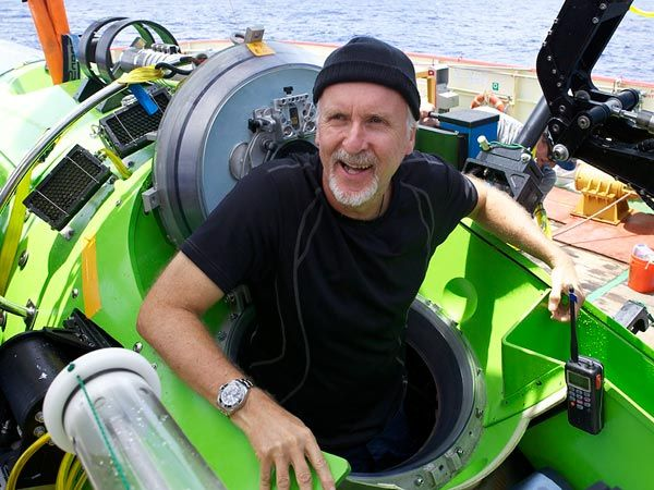James Cameron, the very well-known movie maker, descended into the Mariana Trench's Challenger Deep, the deepest point on Earth in March of 2012. He took his custom-designed submarine into the trench to explore the unknown. Cameron likens the experience to arriving onto a different planet. Unfortunately for Cameron and scientists, there was not any life that far down. On the other hand, Cameron's sub malfunctioned and he lost sight out of the sub, which forced him to return.
