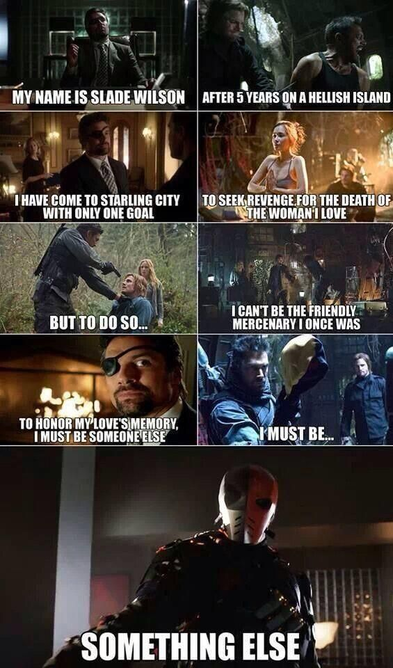 If you are an arrow fan you will get why this is funny and stupid.