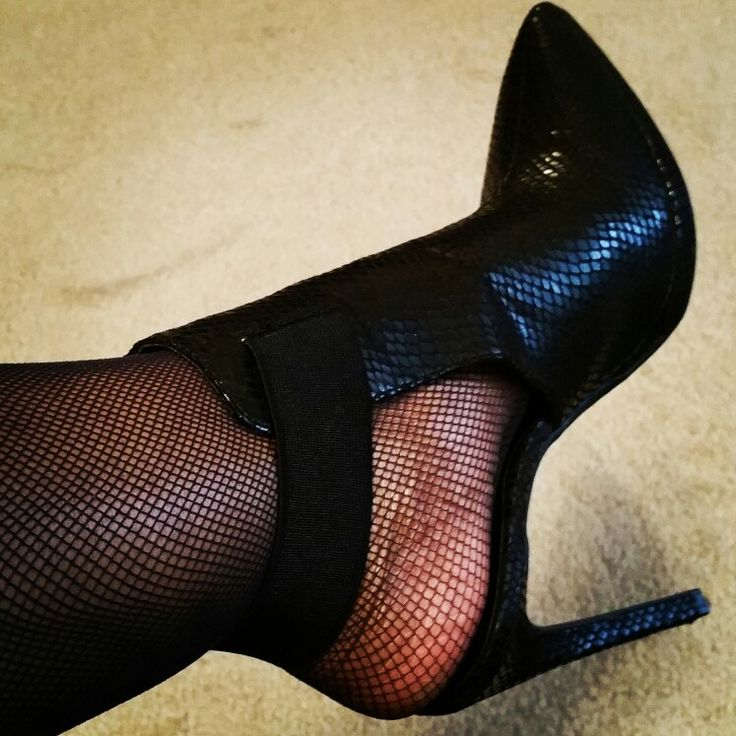 Naughty shoes and nets...