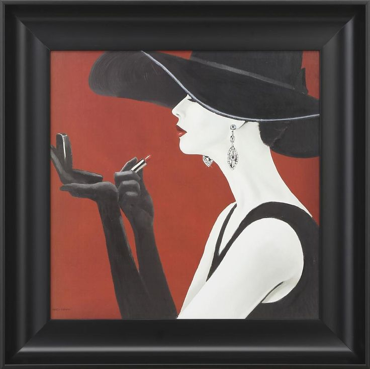 Haute Chapeau R II (18 x 18) #artoftheday