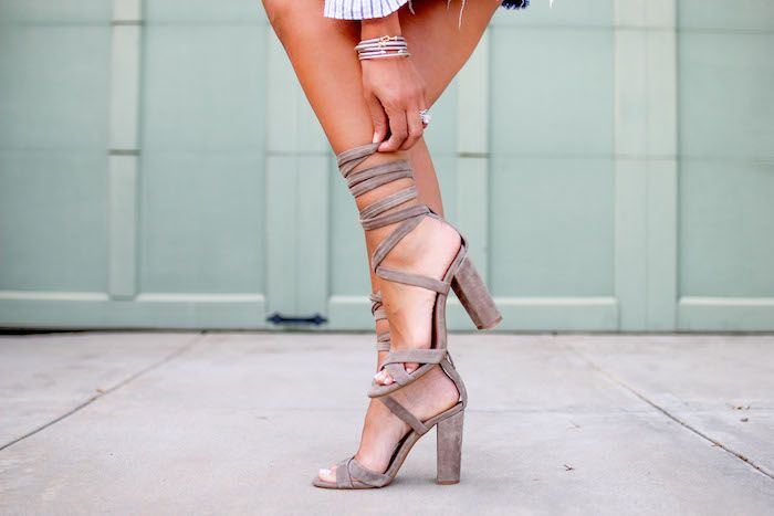 1000 Ideas About Lace Up Heels On Pinterest Heels