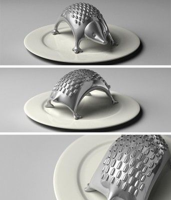 Hedgehog Cheese Grater... Cutee