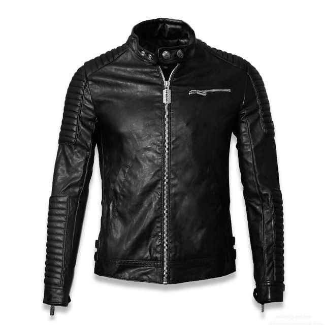 2015 Winter Leather Jacket Men Leather Jackets And Coats Jaqueta De Couro Masculina PU Leather Mens Punk Veste Cuir Homme US $93.99-97.99 CLICK LINK TO BUY THE PRODUCT  http://goo.gl/oYWEYs