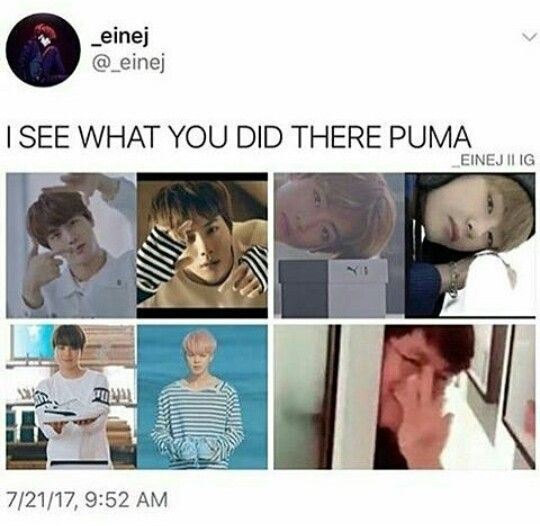 Ikr. After reading the comment section for that puma ad I was so shook