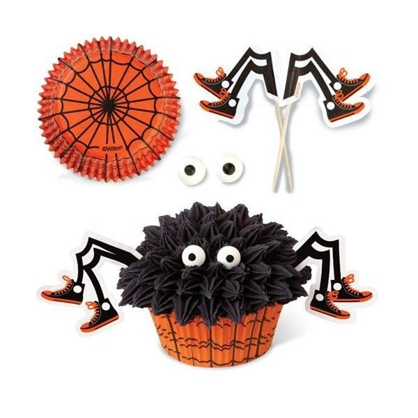 halloween cupcake decorations spooky ideas with candy and frosting