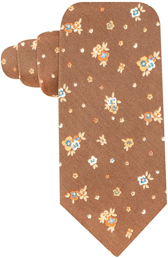 Countess Mara Spaced Floral Tie