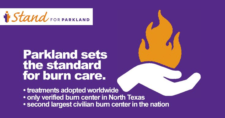 When it comes to the treatment of burn injuries, Parkland Hospital has set the standard for care. Support Parkland's Burn Center by making a donation today: www.IStandforParkland.org/Give-Burn #BurnAwareness #IStandforParkland