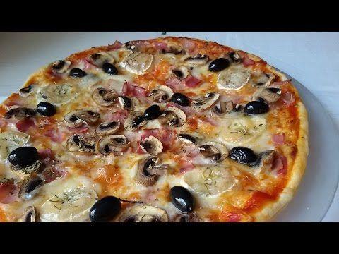 Masa para pizza - Anna Recetas Fáciles