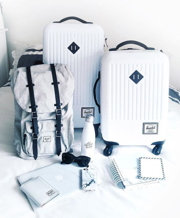 Suitcase + Travel Bags.