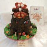Rooter - Bronze award Cake International 2012