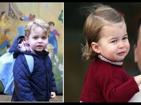 The Royal Pageboys and Bridesmaids Before Prince George and Princess Charlotte