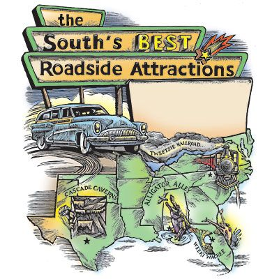 Looking for offbeat roadside attractions? @Katherine Adams Farley Living has you covered! #thisismysouth #roadtrip