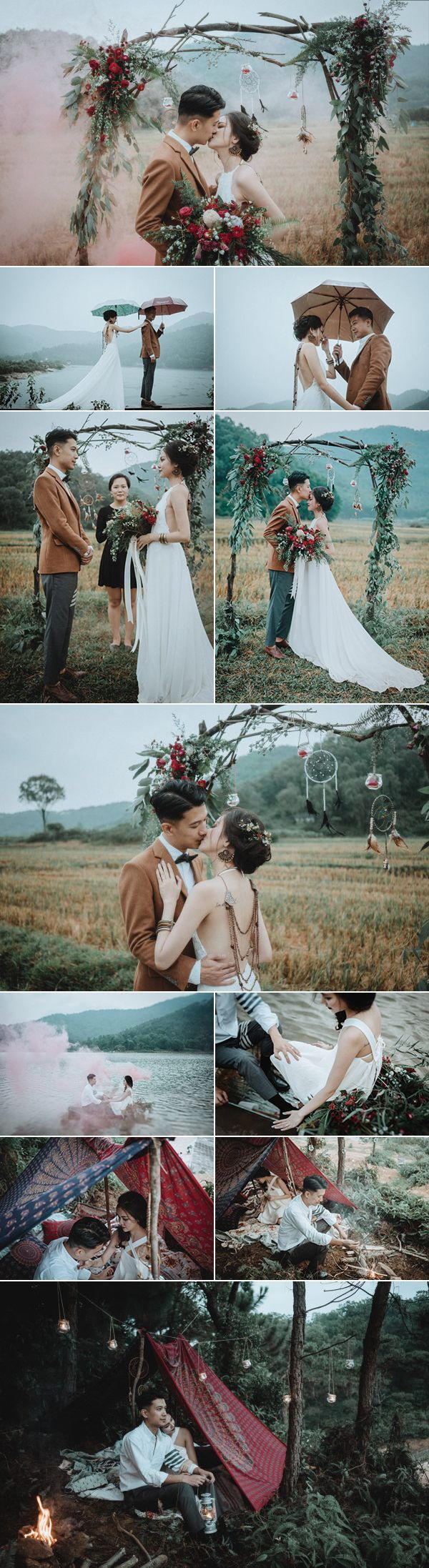 This Vietnamese elopement in Hanoi is so magical we can't believe our eyes | Image by  Tu Nguyen Wedding