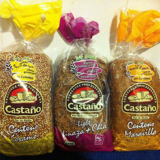 Pan de molde Castaño
