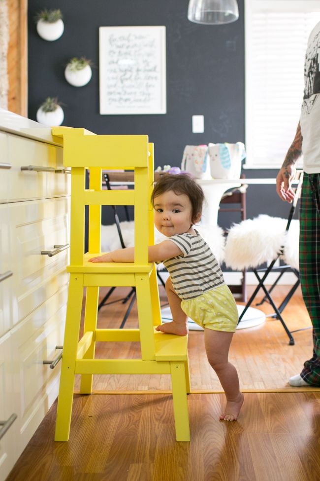 like the idea of a bridge-counter-piece (and the color!) LEARNING TOWER-3