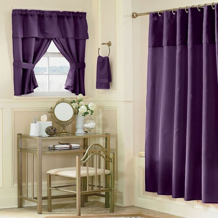 Extraordinary Purple Bathroom Decor Listed In: Stylish Bathroom Decor