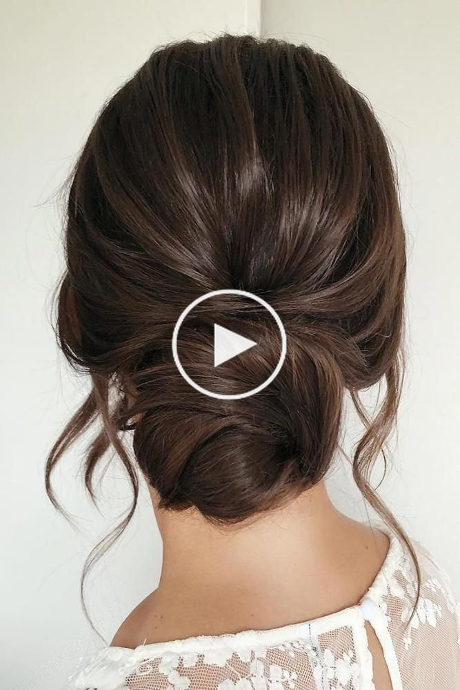 Don't know what to do with your long and voluminous hair for your upcoming nuptials? See our round-up of the best wedding hairstyles for long hair in the post. #simplehairstyles