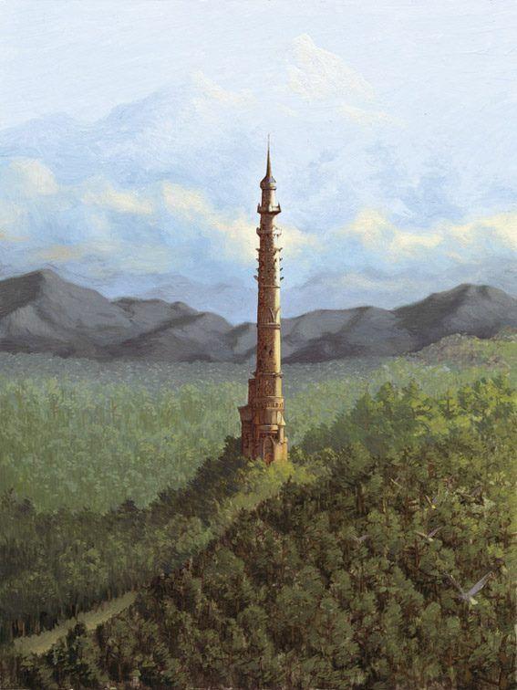 La Torre Del Valle De Los Lobos Torres Memorias De Idhun Paisajes
