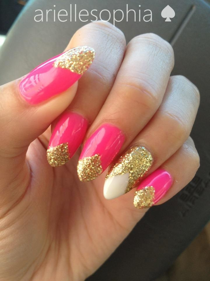 Pointed Gel Nails Best Nail Designs 2018