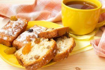 Лимонный кекс с изюмом. Вкуснейшая выпечка - Jemchyjinka.ru