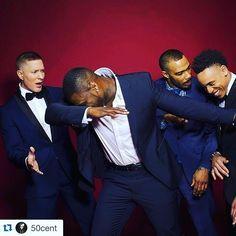 Power - 50 cent aka Kanan; Joseph Sikora aka Tommy;  Omari Hardwick aka Ghost! ; and Rotimi aka Dre♥  ♥ ✿ Ophelia Ryan✿♥
