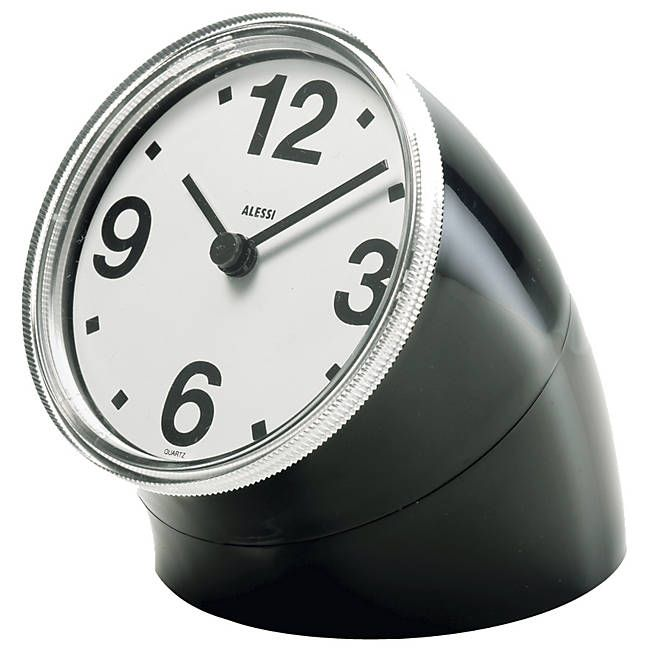the Cronotime Clock to keep you on time: Alessi Cronotim, Cronotime, Desks Clocks, Pio Manzù, Cronotim Clocks, Desk Clock, Cronotim Desks, Products, Pio Manzu