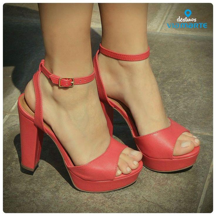 heels - cores - pink - salto alto - summer shoes - Ref. 14-21772 - alto verão 2015