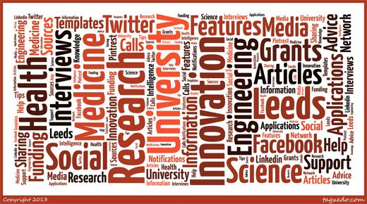 Research and Innovation Service launch Social Media platforms