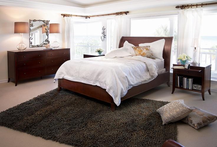 Kieran Mahogany Bedroom
