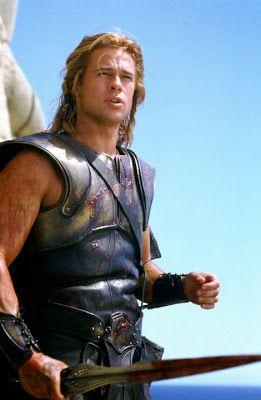 """En la mitología griega, Aquiles o Aquileo (en griego antiguo Ἀχιλλεύς) fue un héroe de la Guerra de Troya y uno de los principales protagonistas y más grandes guerreros de la Ilíada de Homero. Era nieto de Éaco e hijo de Peleo y de Tetis, por lo que se le llama a menudo """"Pelida"""" y """"Eácida"""". En la célebre obra homérica, Aquiles suele ser calificado como «el de los pies ligeros», ya que se lo consideraba el más veloz de los hombres."""