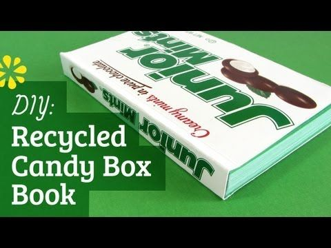 DIY Recycled Candy Box Book: Perfect Binding (How to Make) also has link during video on how to make the book press!
