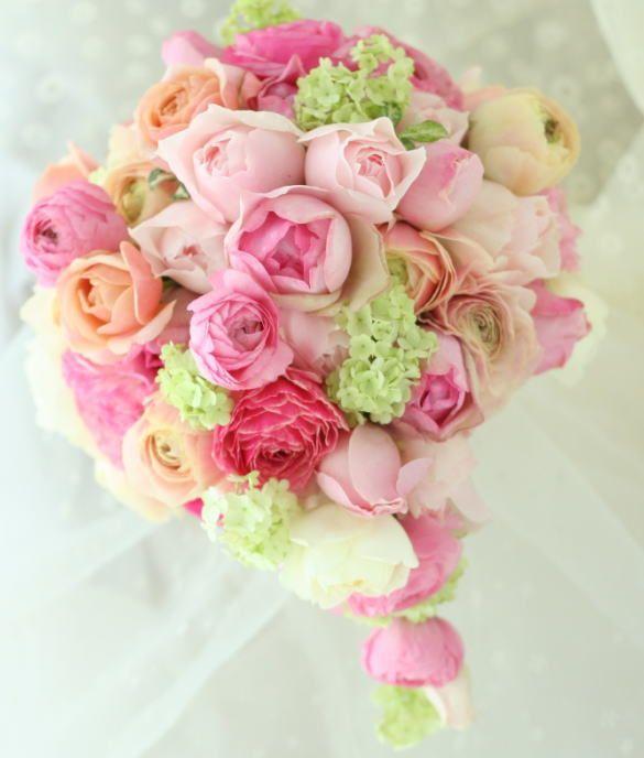 ブーケ セミキャスケード イブミオラ パルティーレ様へ : 一会 ウエディングの花
