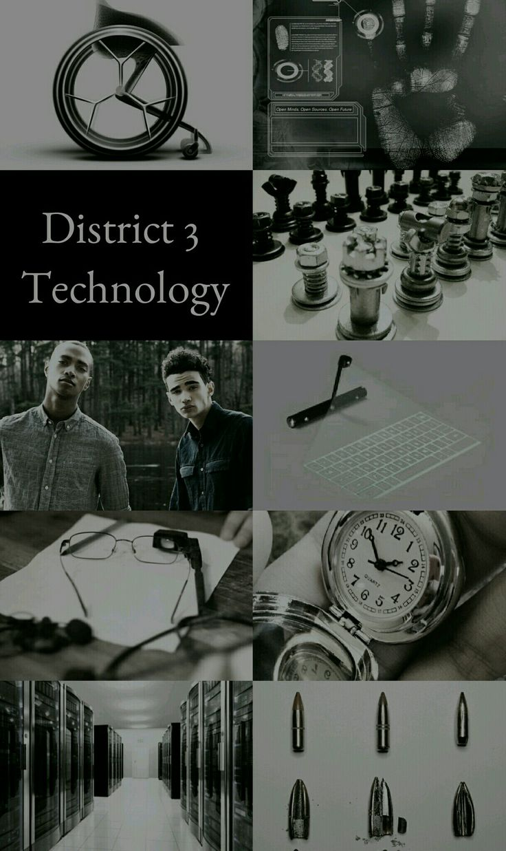 The Hunger Games Aesthetics: District 3