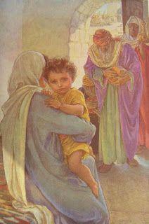 The Bible illustration blog: Elsie Anna Wood