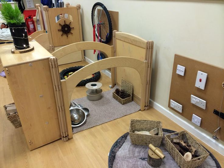 0-2 indoor learning environment - lots of lovely loose parts and open ended materials to explore and discover.