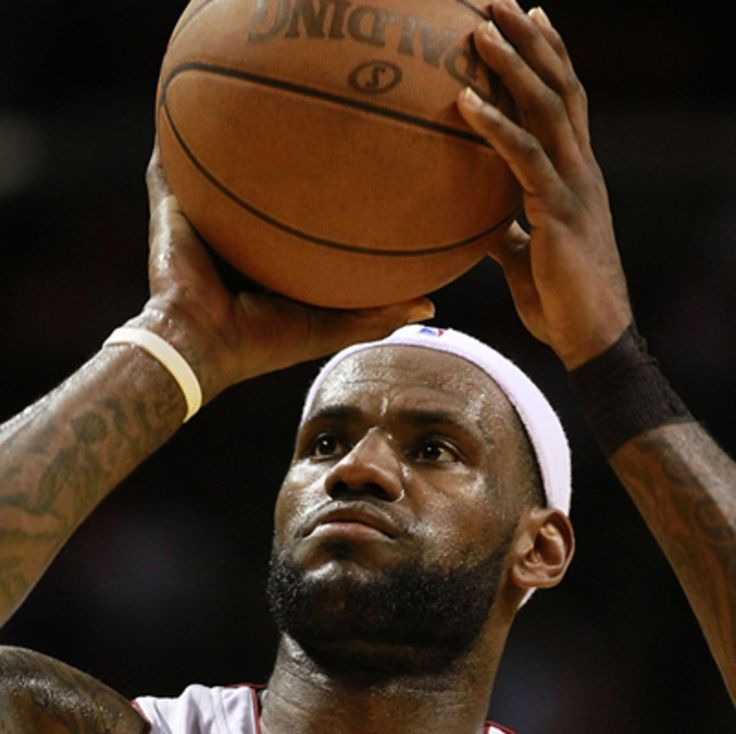 Follow the success story of NBA star LeBron James, who led the Miami Heat to NBA championship victories in both 2012 and 2013, at Biography.com.