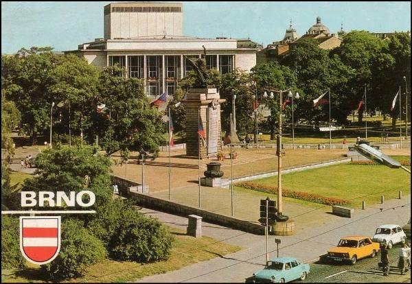 Brno - Janáčkovo divadlo (1976)