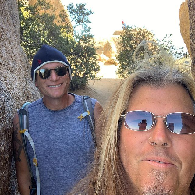 Me And My Buddy Jay Rothman In Scottsdale Arizona Getting Our Hike On Singing Lessons Thats Not My My Buddy