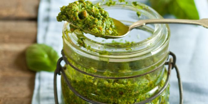 Basil and Spinach Pesto - I Quit Sugar