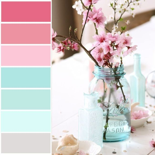 Paleta do Casamento | Rosa e Azul