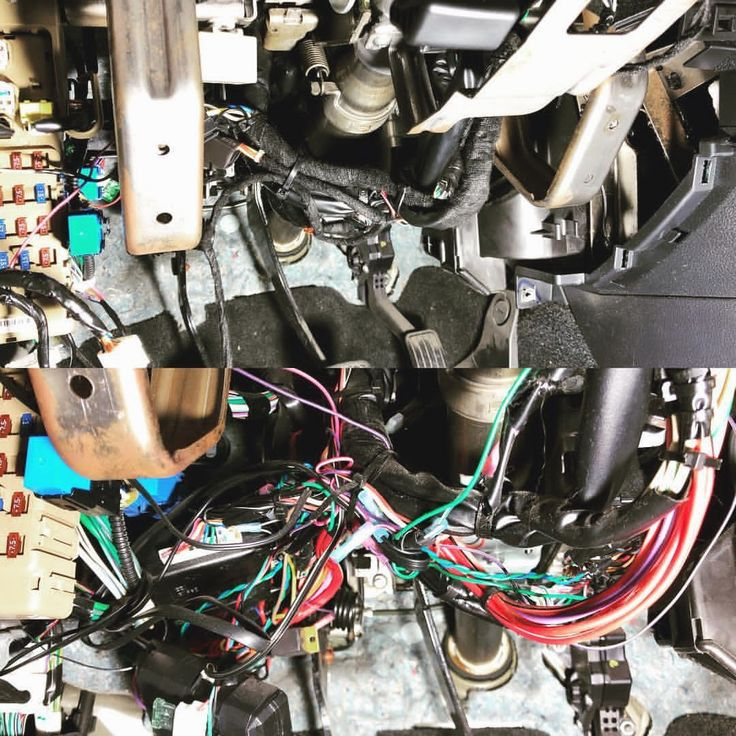 "This is why the dealer isn't the best choice to get a remote starter installed. The bottom photo was a ""factory installed"" remote starter. It came in because it stopped working. The top photo was our installation when we were done. Dealers want cheap! And cheap is never good! Get it done right the first time at Speed of Sound Technologies in #milford #ct #remotestart #speedofsound  Are you looking for the best Car Audio & Window Tint Shop in the Milford-New Haven, CT area? Give us a .."
