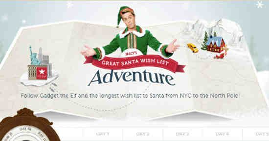 Macy's #Guinness World Record: Longest Wish List to #Santa #Christmas
